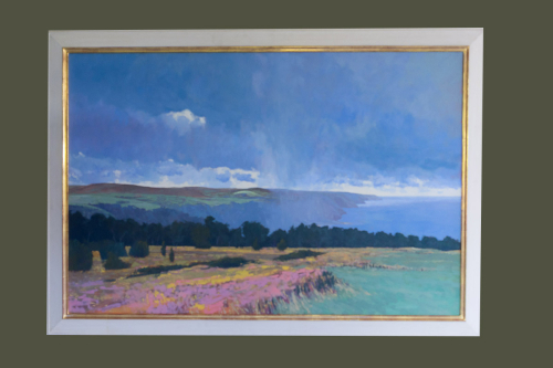 Porlock From Selworthy Oil on Canvas