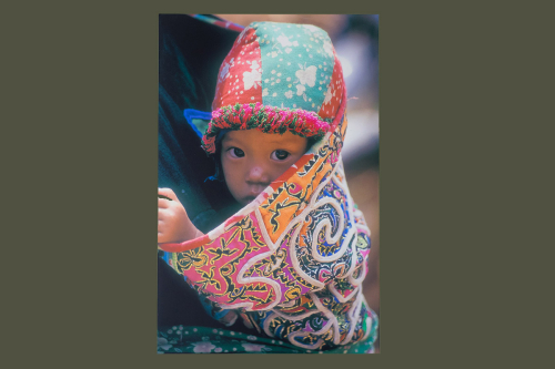 Hilltribe Baby. A photograph by Jane Iverson